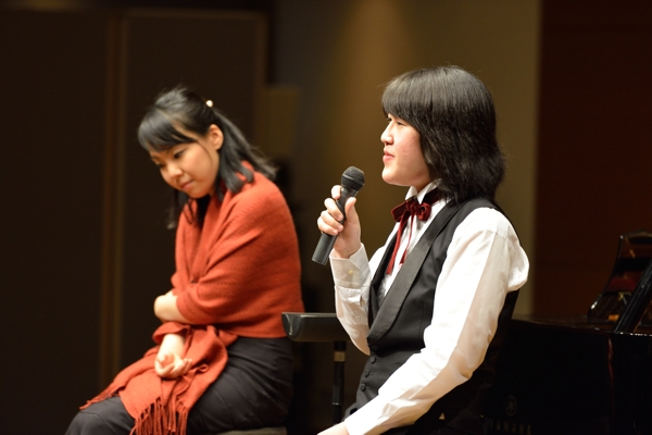 アフタートーク中の周防亮介さんと三又瑛子さん