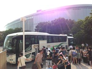 ジュニアオーケストラ浜松、新潟に到着!