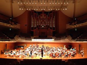ジュニアオーケストラ・フェスティバル、2日目終了しました