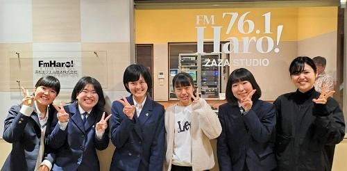 FM Haro!ラジオ収録(スプリングコンサート告知)