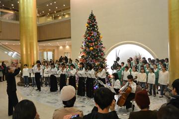 オークラアクトシティホテル浜松クリスマスロビーコンサート