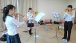 ジュニアオーケストラ 本日の練習