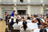 ジュニアオーケストラ浜松 定期演奏会前の特別練習を行いました