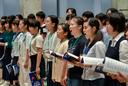 ジュニアクワイア浜松 クリエート浜松30周年記念の練習を行いました。