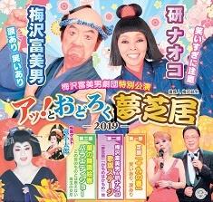 梅沢富美男&研ナオコ アッとおどろく夢芝居